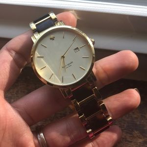 Kate Spade Gold and Tortoise Watch